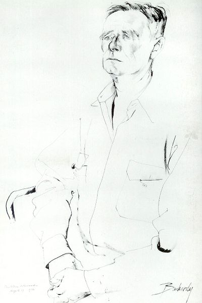 Bachardy Image of Christopher Isherwood