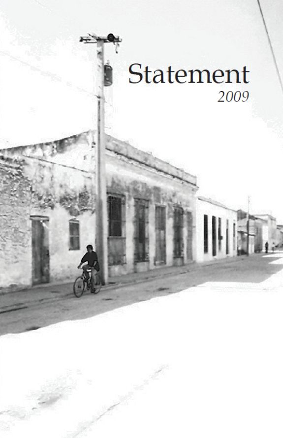 Cover image Statement 2009
