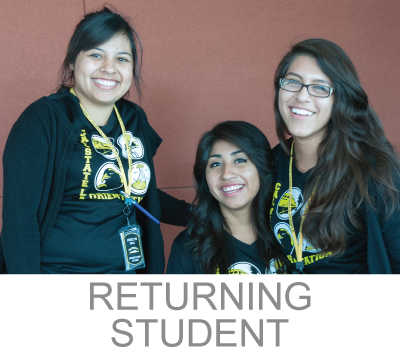 returning student admitted student link