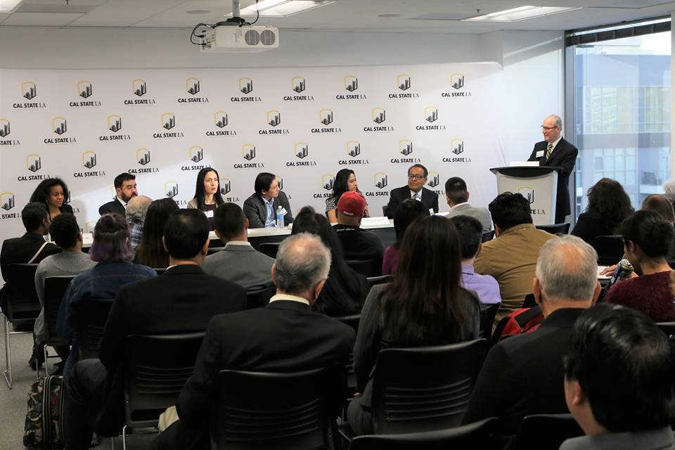 Alumni speak on career mentoring panel