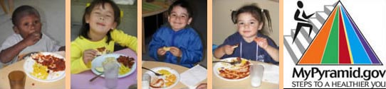 Picture of Children with Food