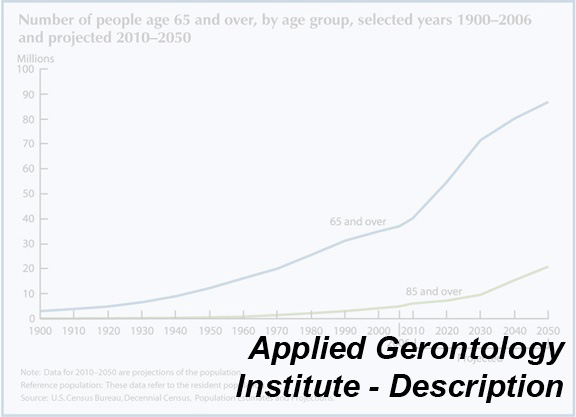 Link to Applied Gerontology Institute Description web page