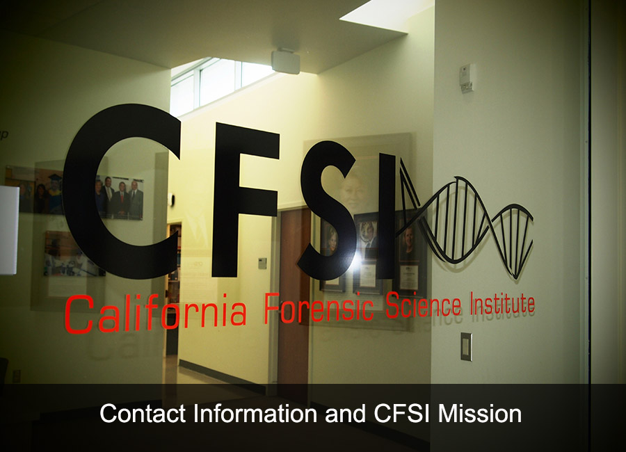 Contact Information and CFSI Mission