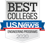 US News 2020 Best Engineering Programs Badge