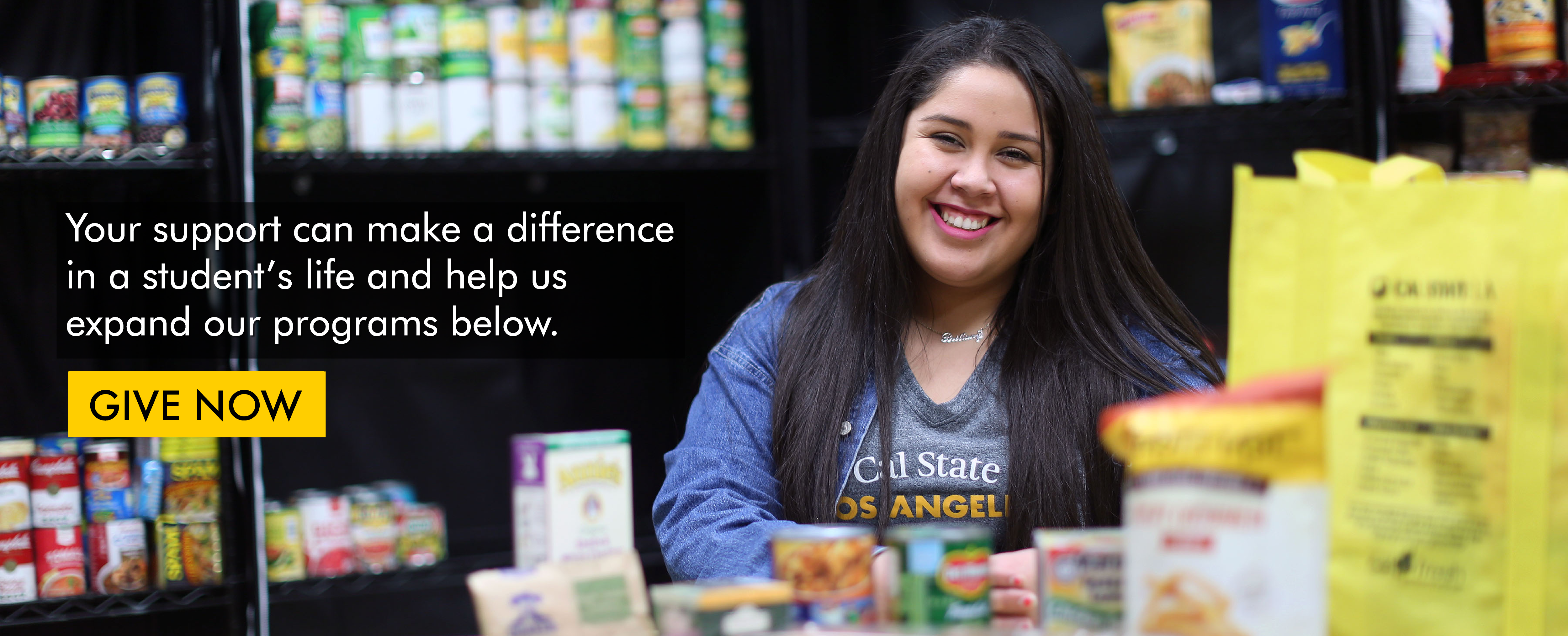 Cal State LA Supports Student's basic needs