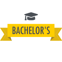 Bachelor's Degree with Graduation Cap Icon