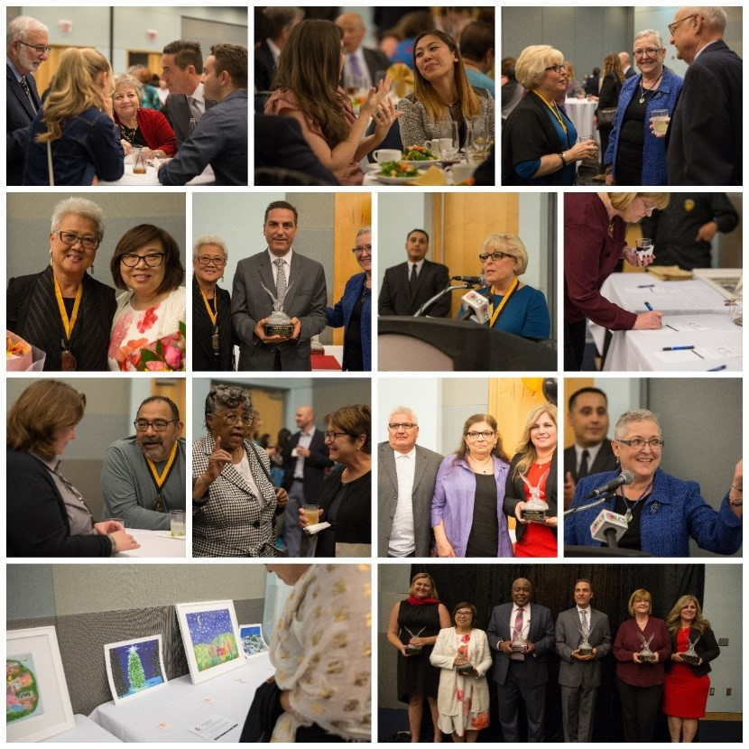Photographs of Previous Distinguished Educators Events