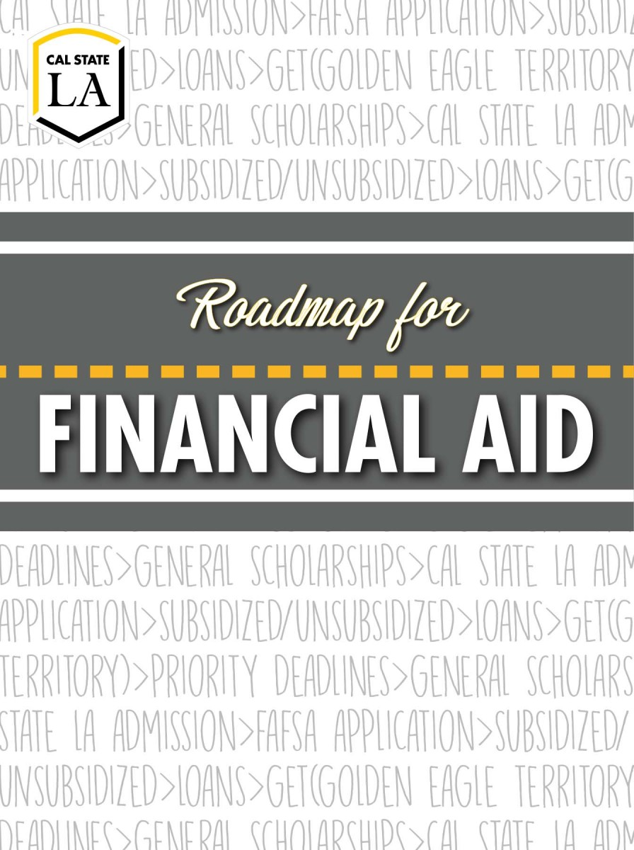 Cal State LA Road to Financial Aid brochure cover