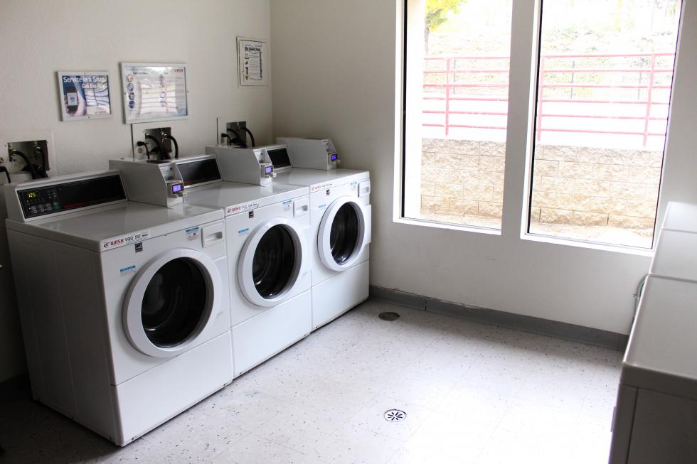 Phase II Laundry Area