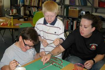 M.A. in Special Education Option in Visual Impairment & Blindness: