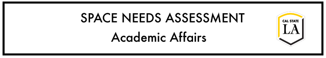 TITLE for Space Needs Assessment Project