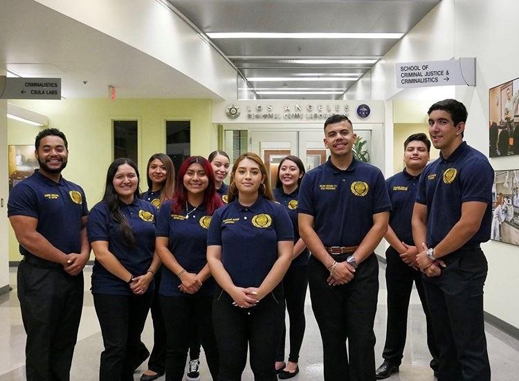 School of Criminal Justice & Criminalistics Students