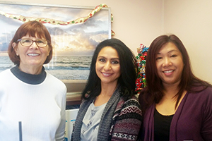 Photo of Clinical Placement Office staff
