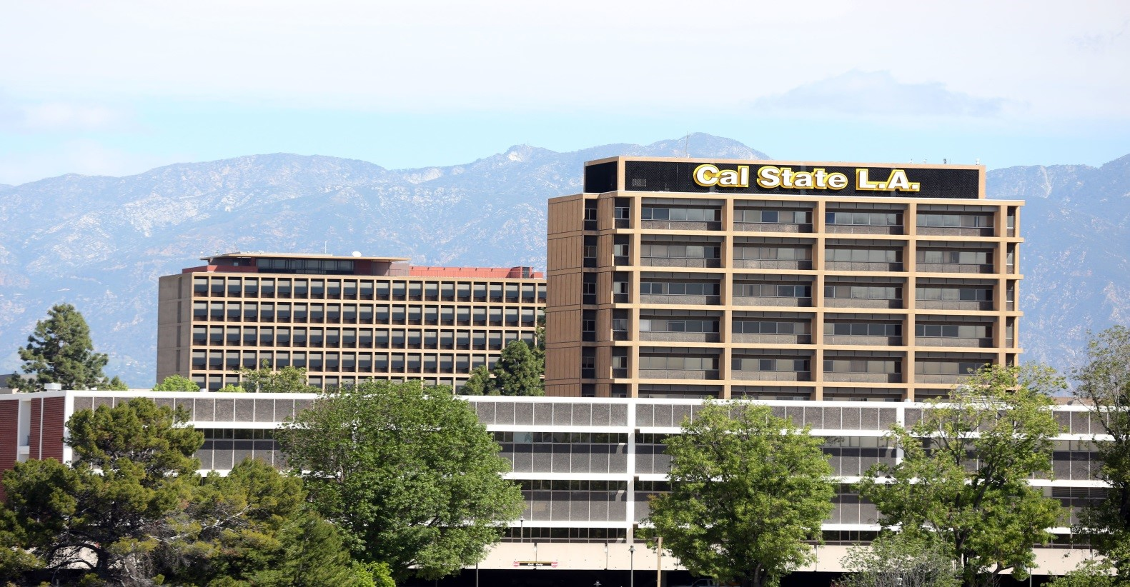 Cal State LA Campus View