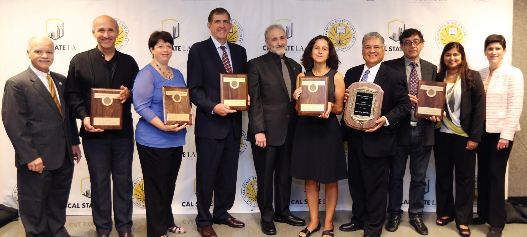 Outstanding Professor Award Honorees