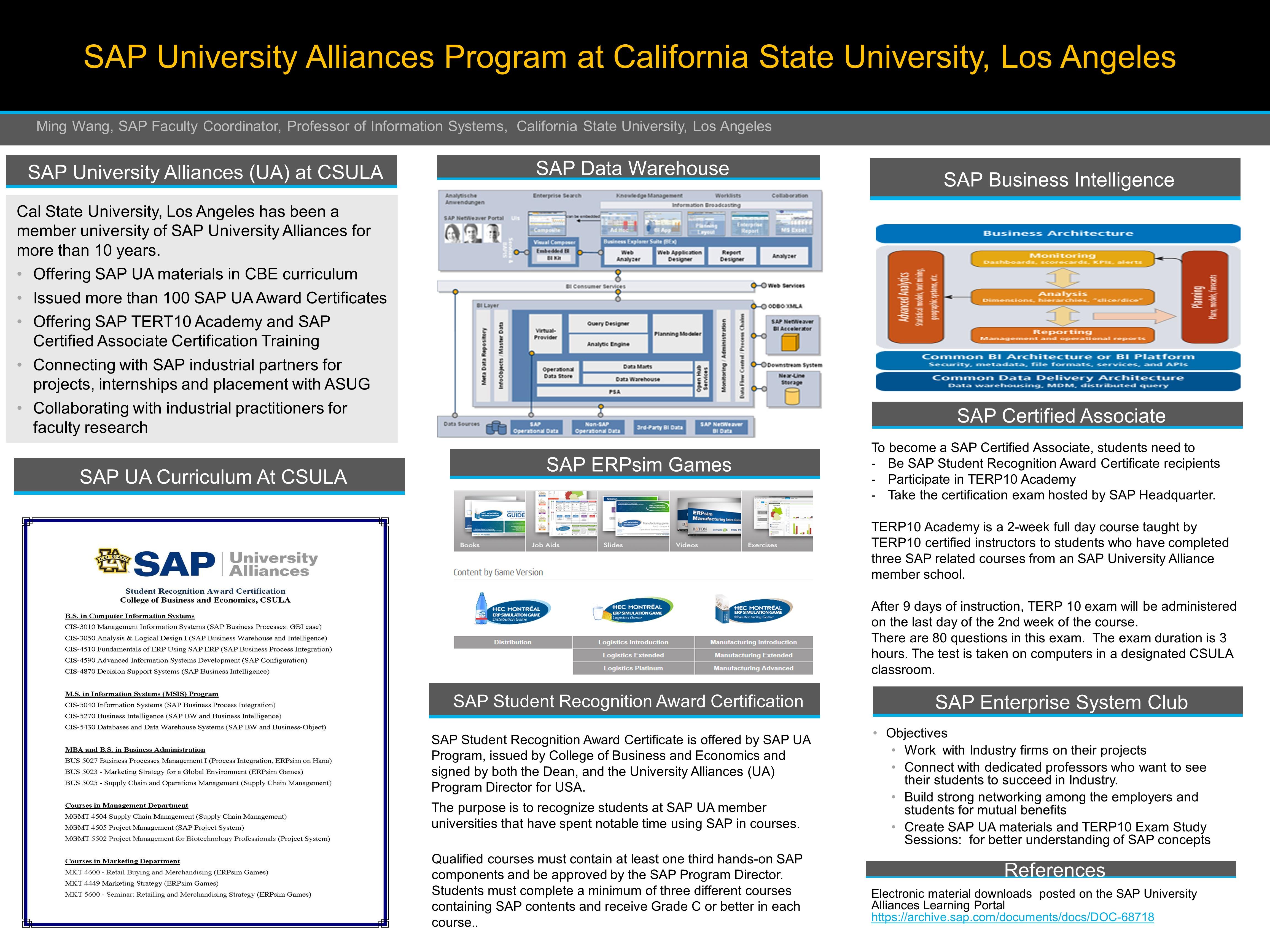 CSULA SAP Alliance