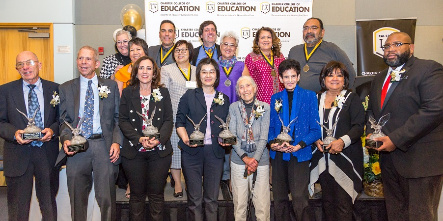 Honorees Past and Present for the Distinguished Educators Dinner (DED)