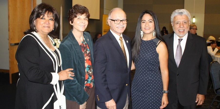 Photo of Guests from the 2017 Distinguished Educators Award Dinner