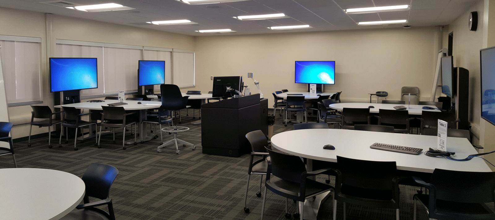 Salazar Hall Active Learning Classroom