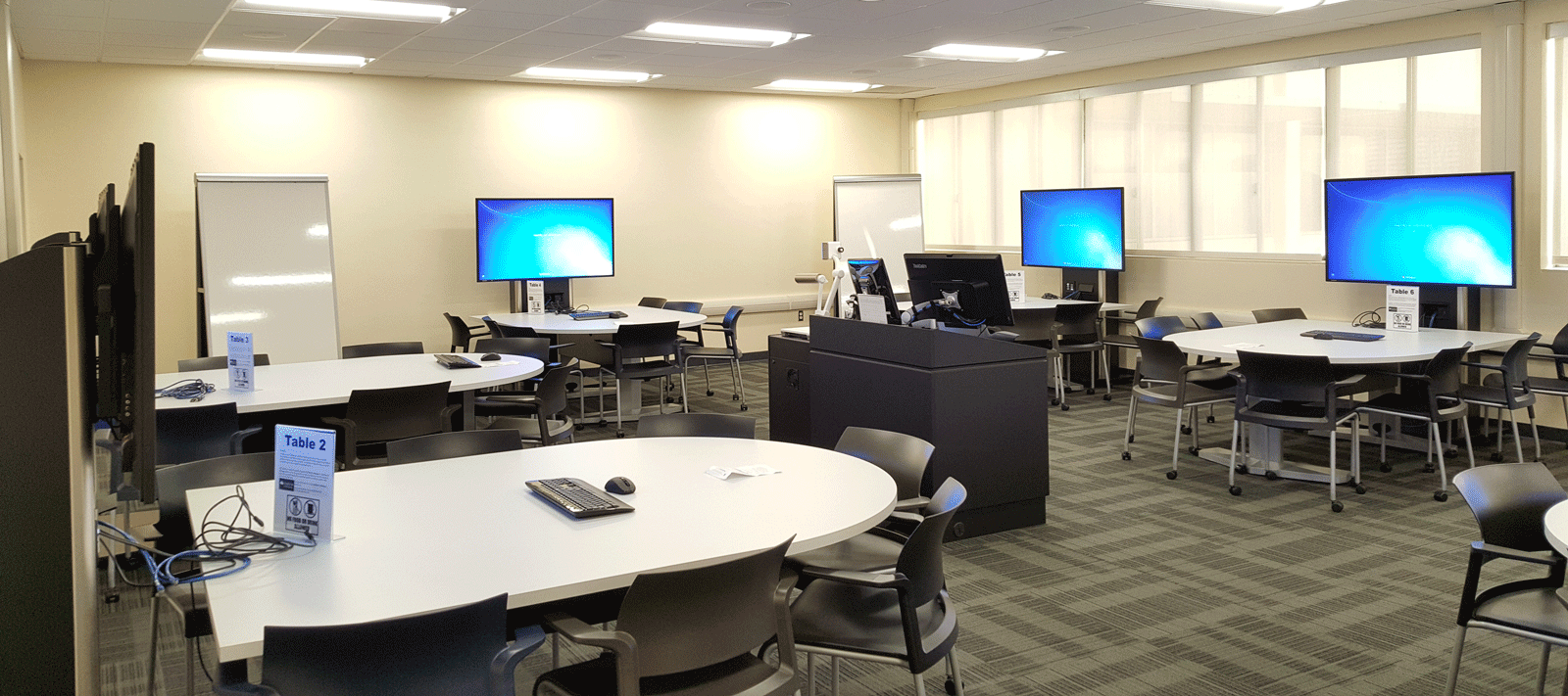King Hall Active Learning Classroom