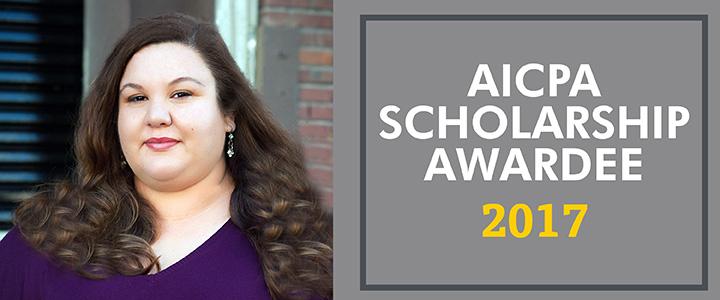 Marie D'Antonio, 2017 AICPA Scholarship Awardee