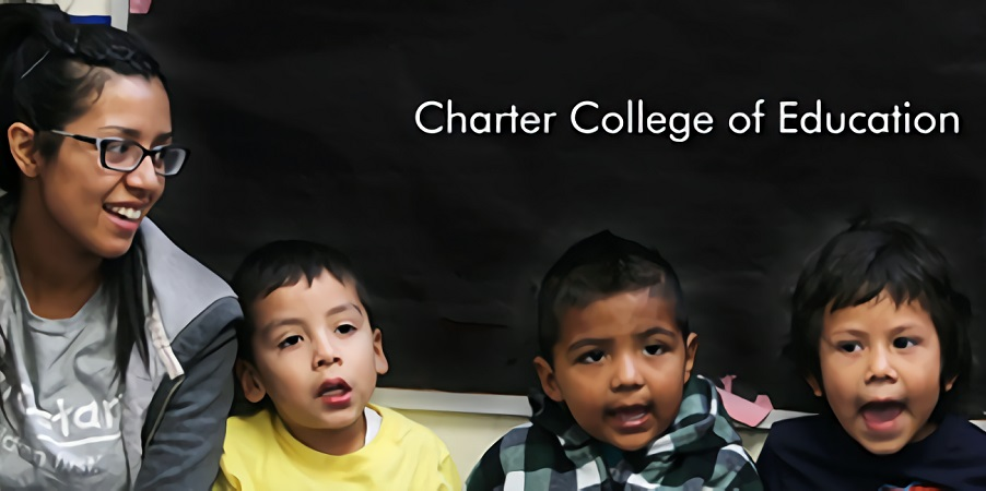 Photo of Charter College of Education Students