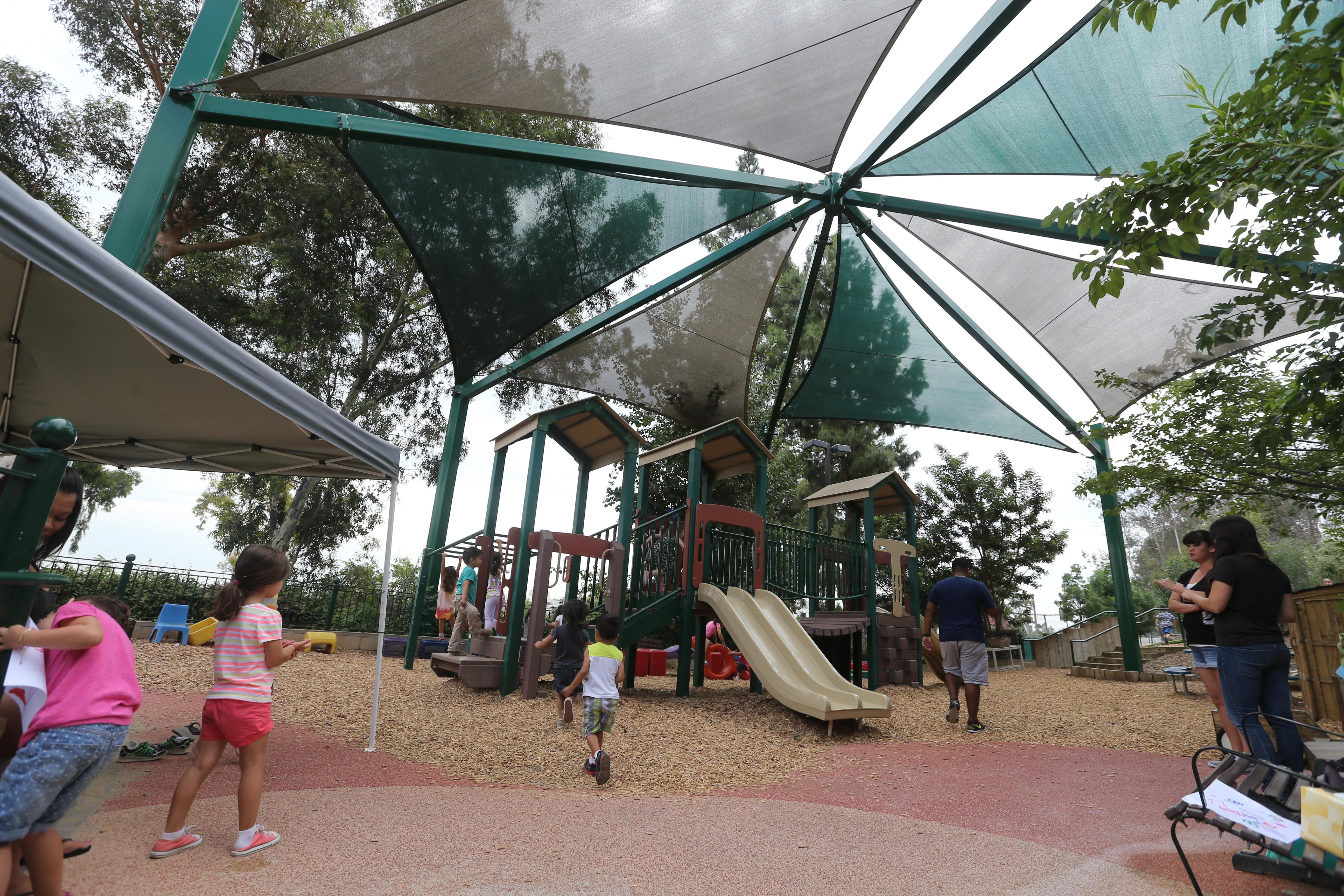 Upperyard Shade Structure