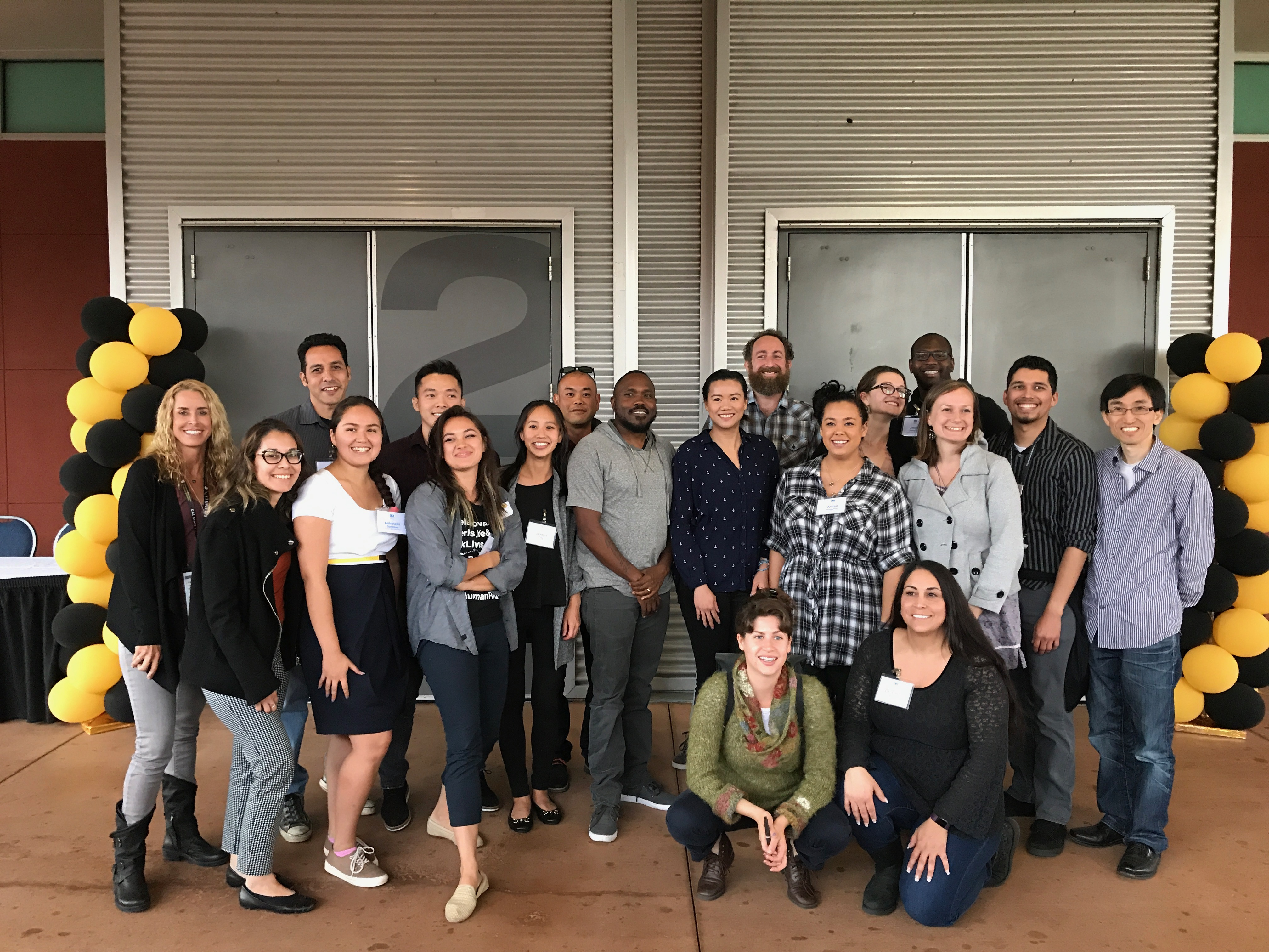 Cohort 8 Residents and Faculty Advisors