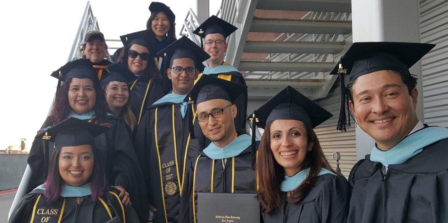Educational Technology Leadership MA 2017 graduates
