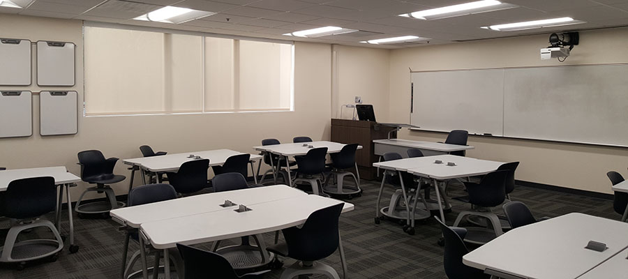 Engineering and Technology classroom