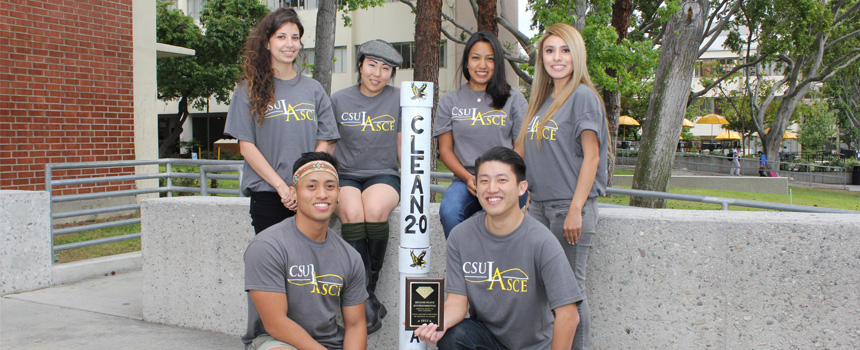 Cal State LA's Environmental team | Pacific Southwest Conference