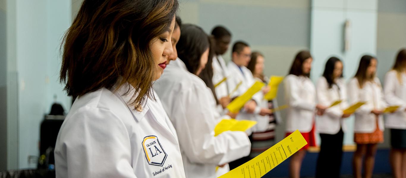 Photo of School of Nursing White Coat Ceremony