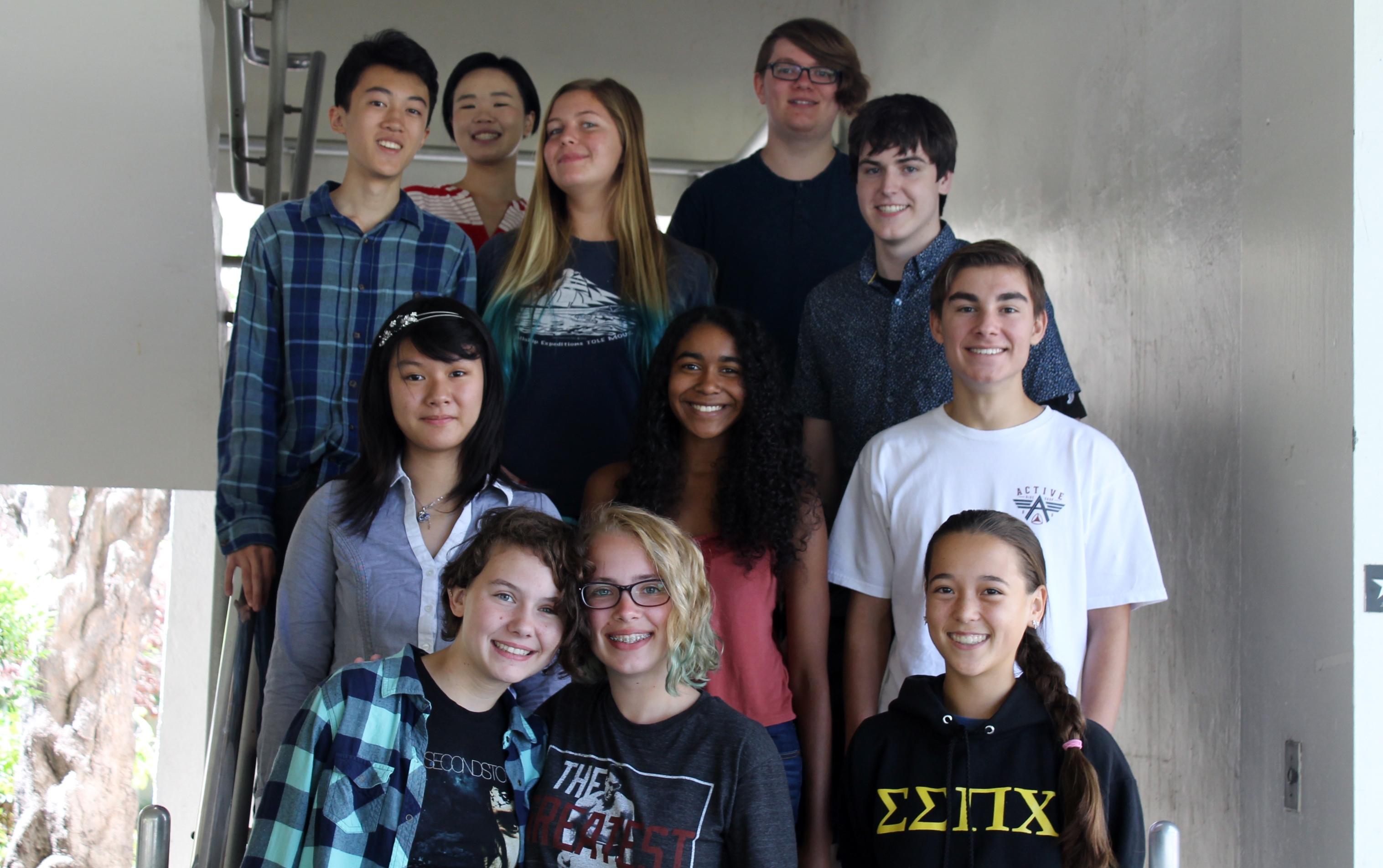 2016 student mentors