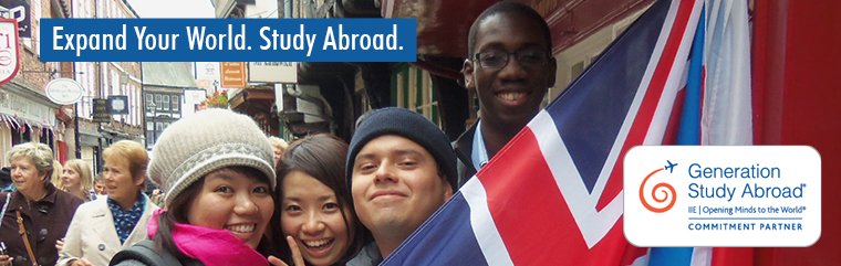 Expand Your World. Study Abroad.