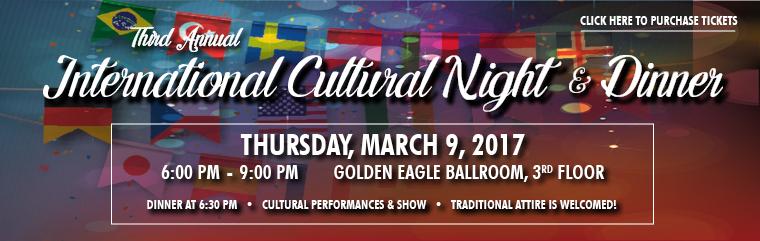 2017 International Cultural Night & Dinner