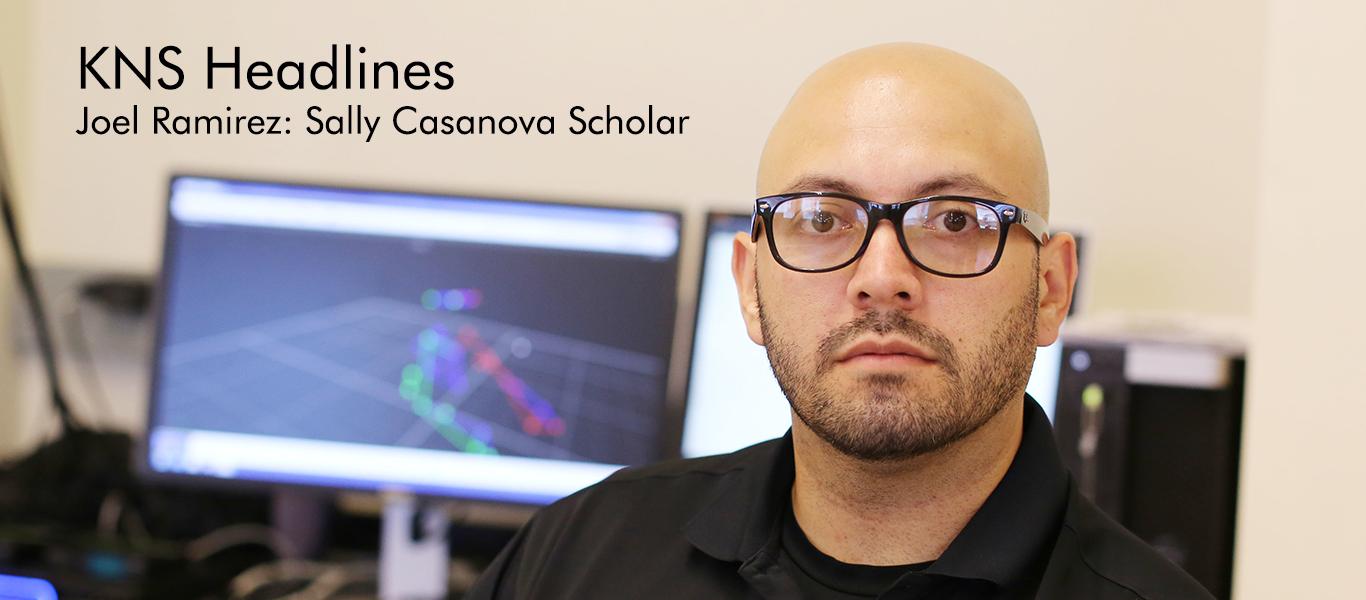 Joel Ramirez: Sally Casanova Scholar