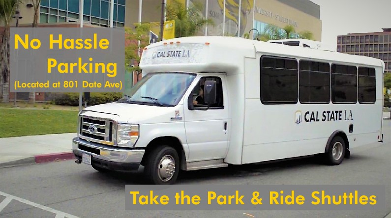 Off-Site Parking and Park and Ride Shuttle Service