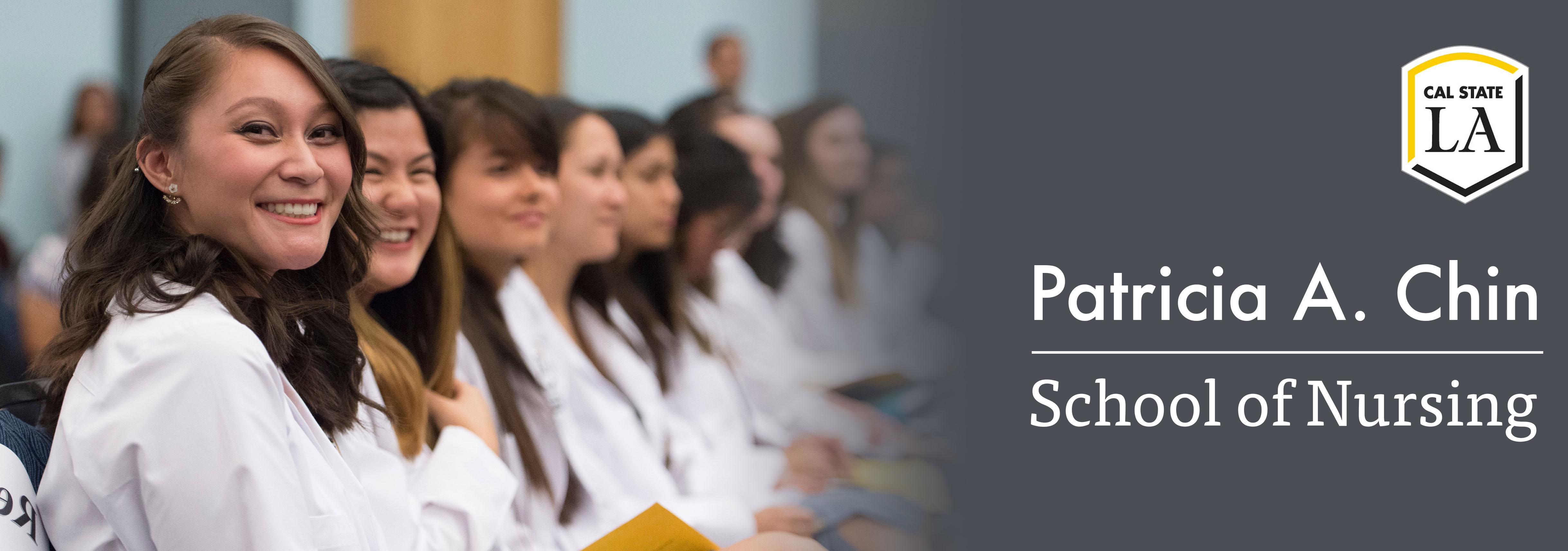 Nursing students graduation.