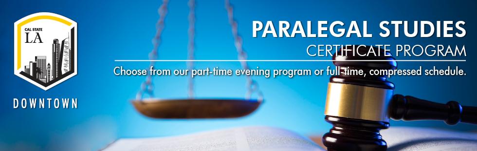 Paralegal Studies Program Downtown LA