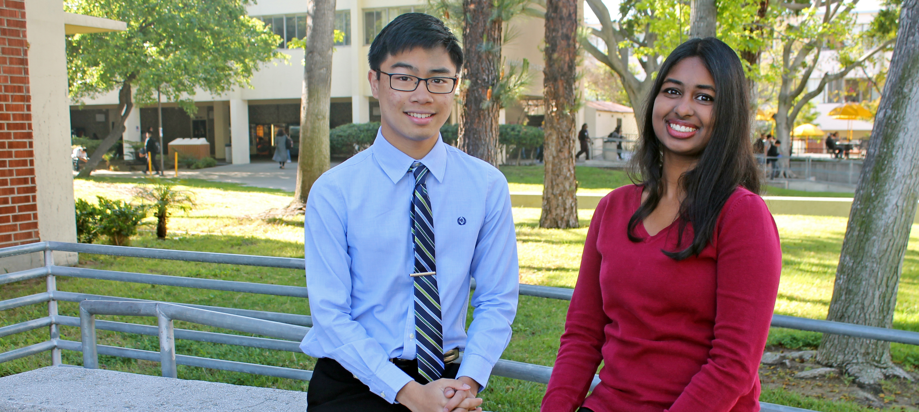 Paolo Nathan Arguelles & Angela Madira, 2016 Goldwater Honorable Mentions