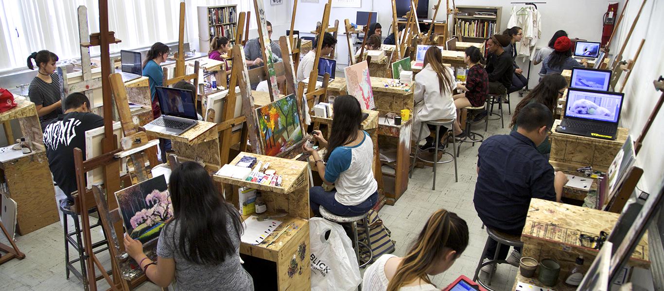 painting studio 1