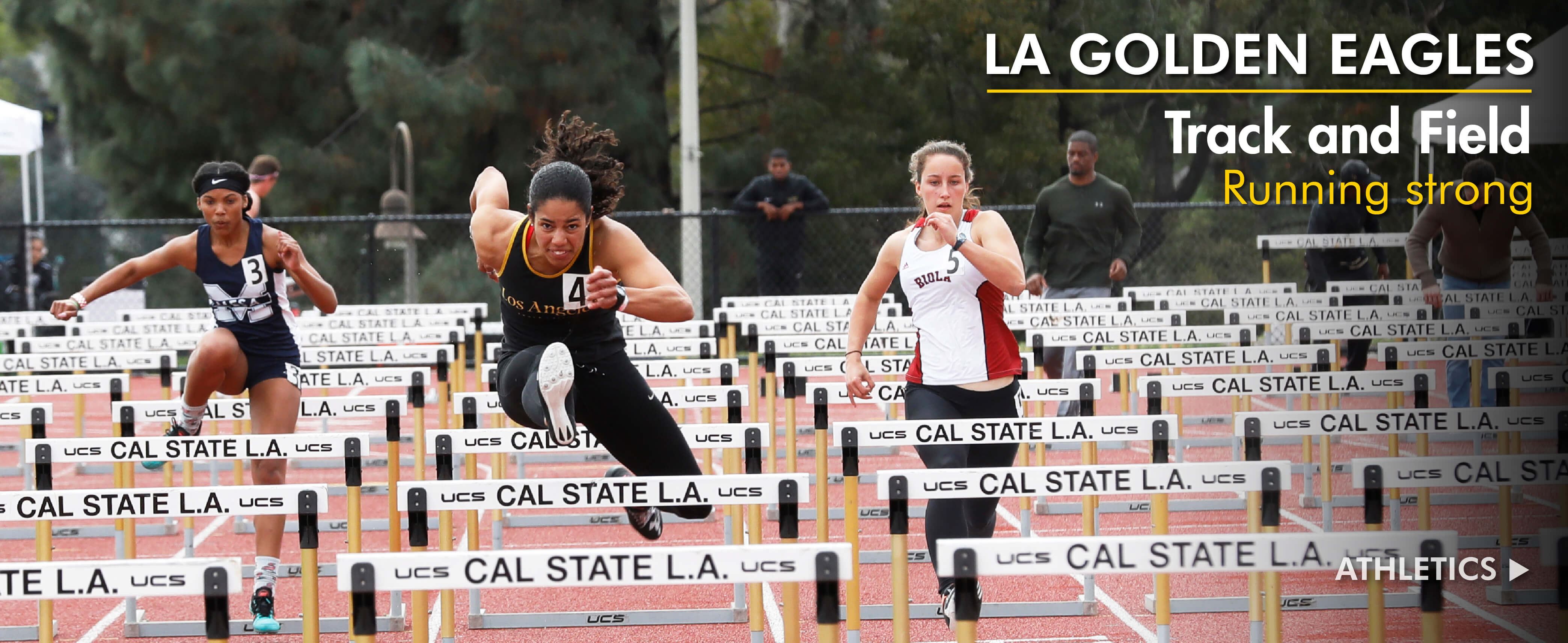 Track and Field Running Strong