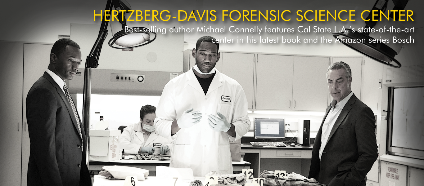 Hertzberg-Davis Forensic Science Center-site location for Connelly's novels