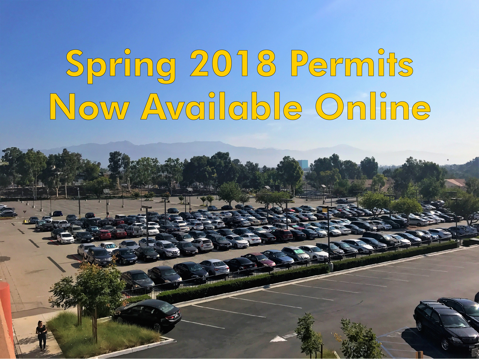 Spring 2018 Permits Available Online