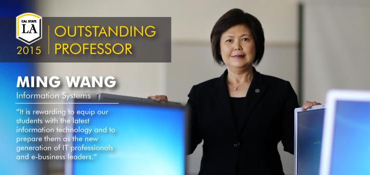 Outstanding Professor Ming Wang