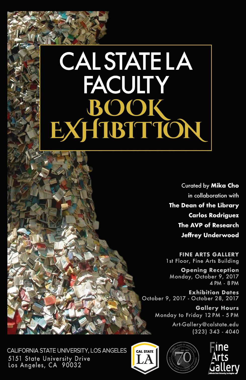 Cal State LA Faculty Book Exhibition